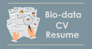 BIO-DATA, CV, RESUME