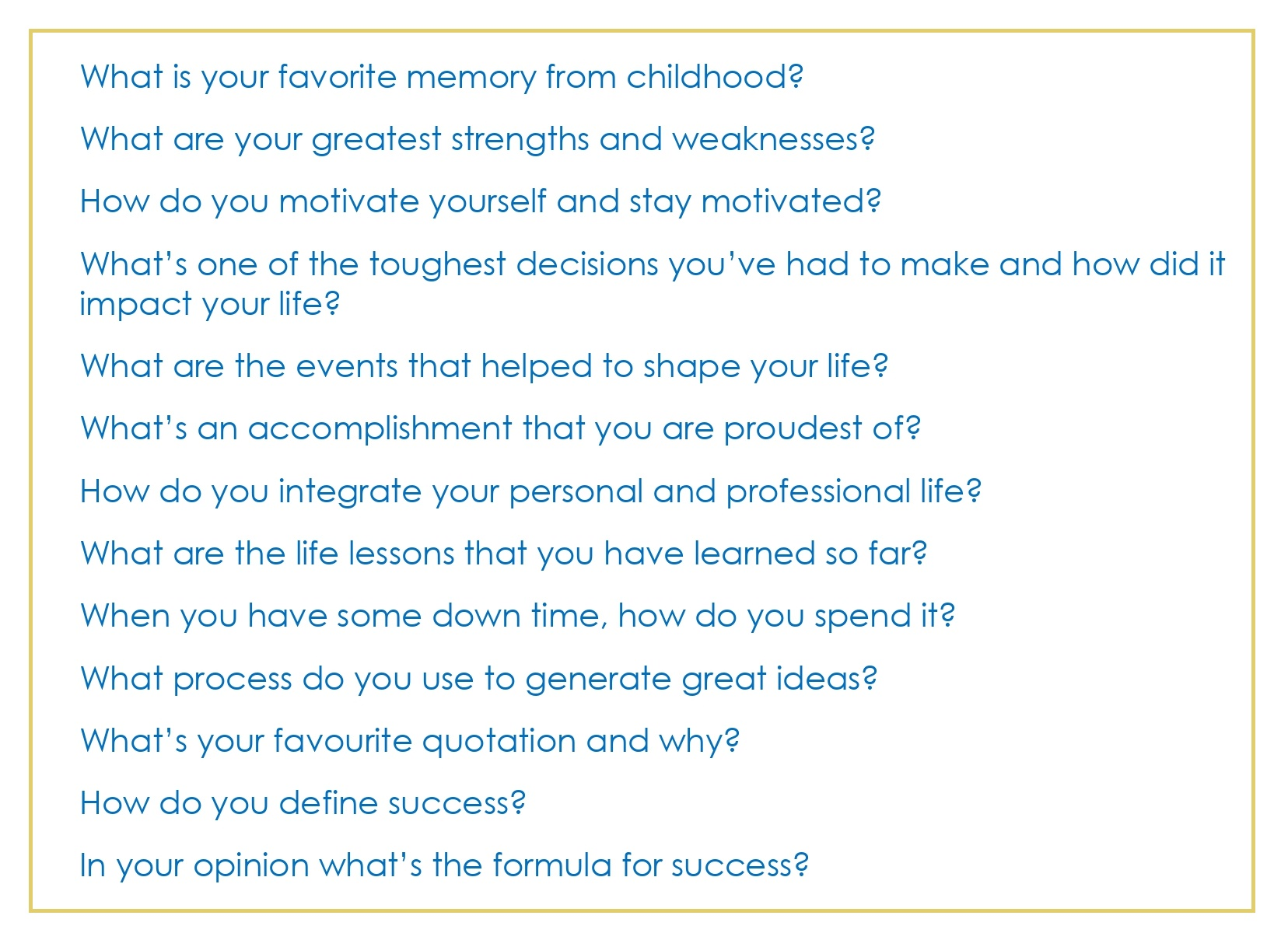 Common Interview Questions_03