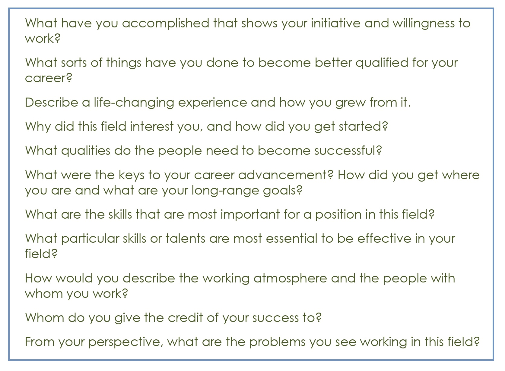 Common Interview Questions_05