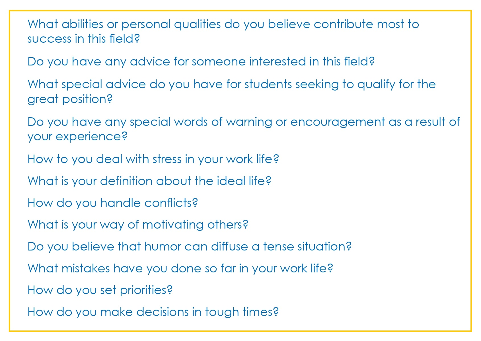 Common Interview Questions_06