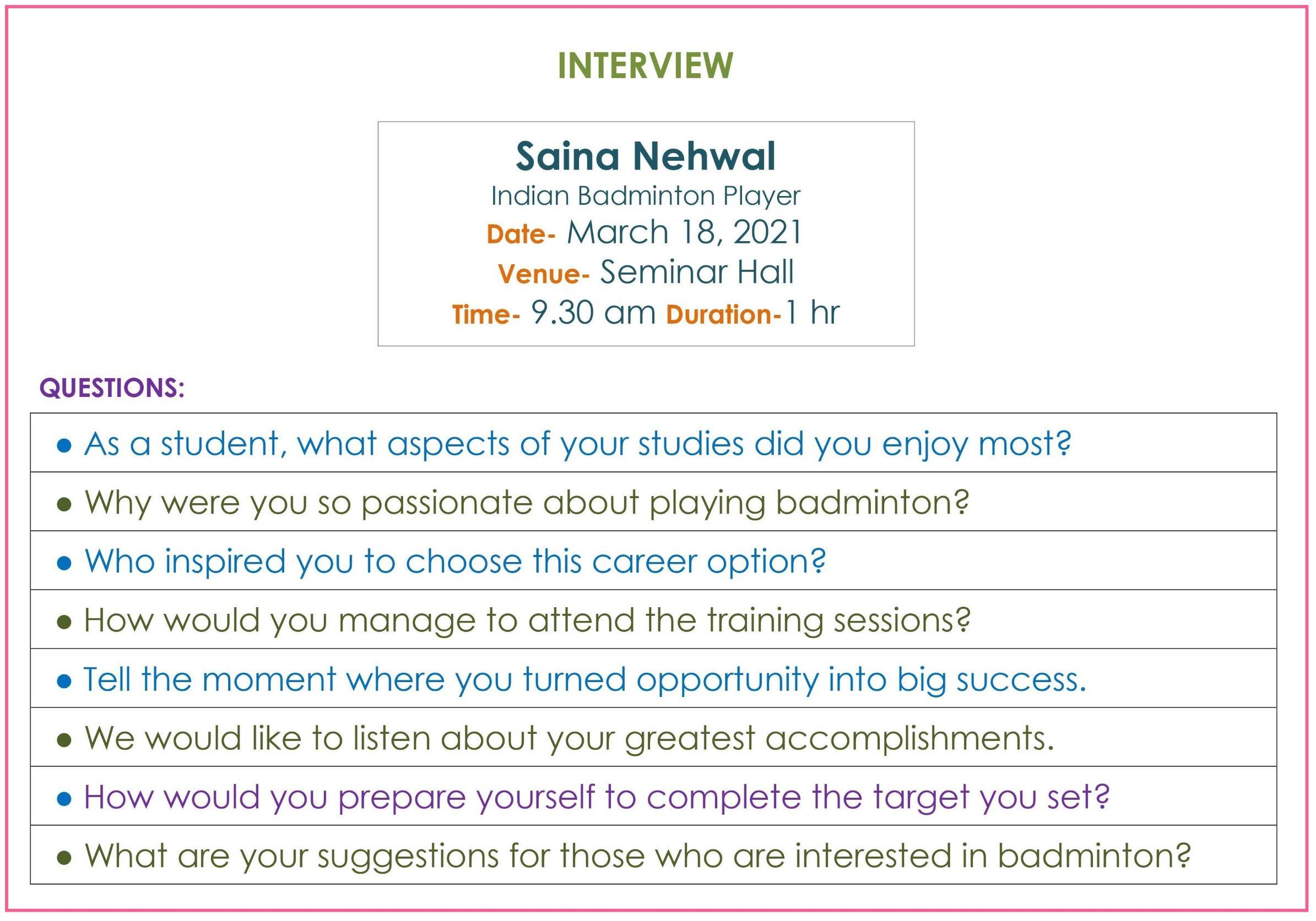 Taking_Interiew_Saina_Nehwal_