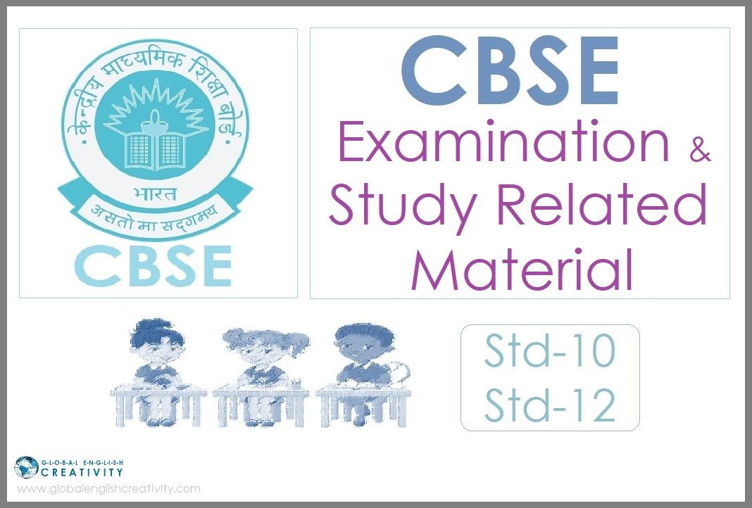 CBSE_Exam_study_material