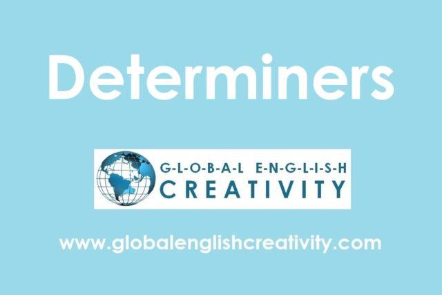 Grammar_Deteminers