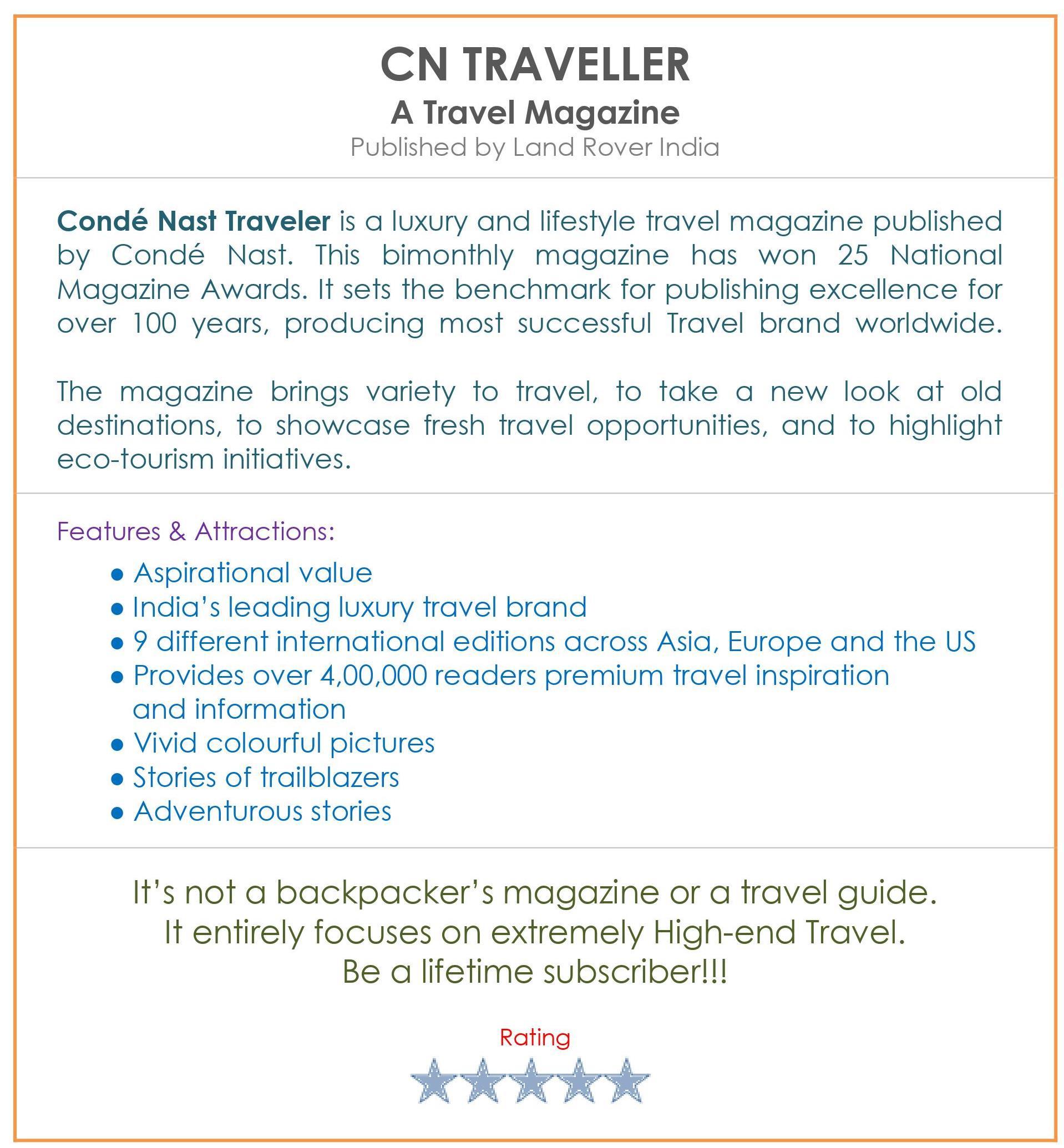 Book Review_MAGAZINE_ CN TRAVELLER