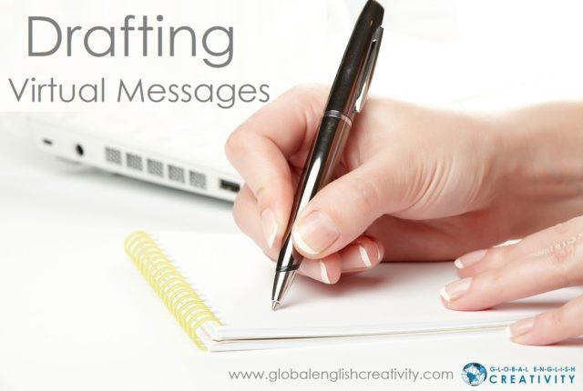 drafting virtual message