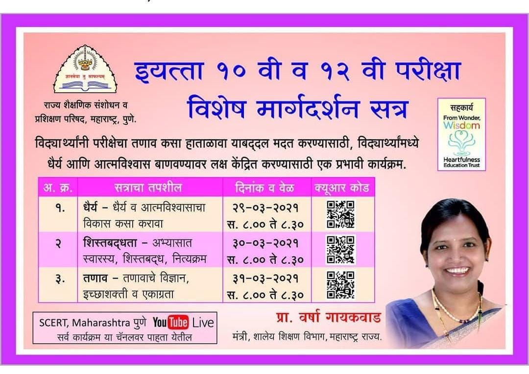 Std.10 and 12-Special Guidance Session