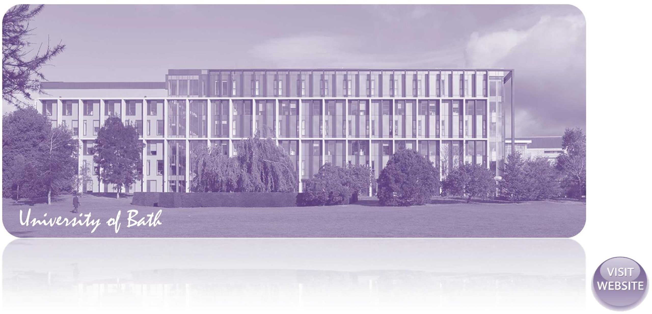 University of Bath UK