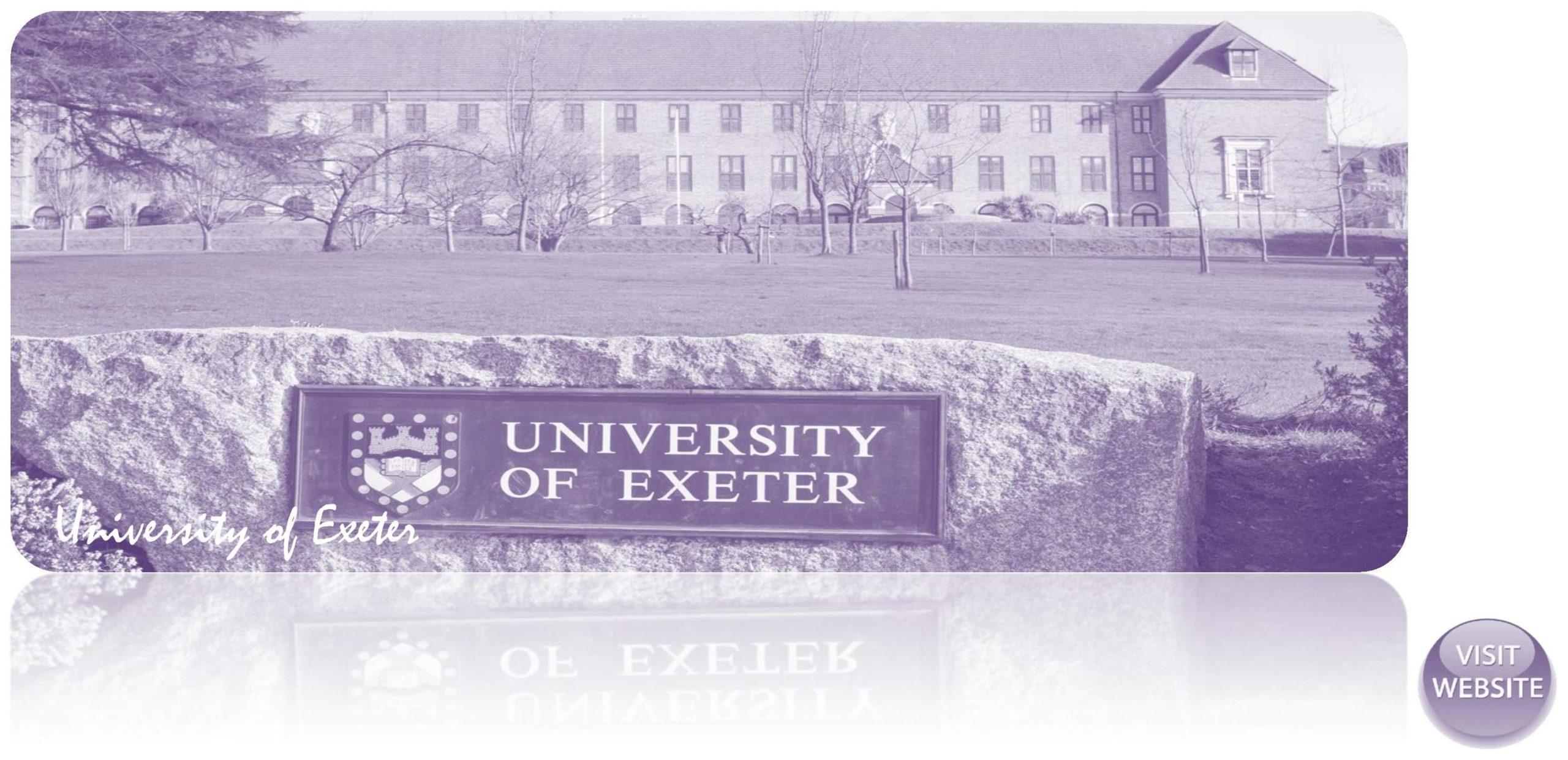 University of Exeter UK