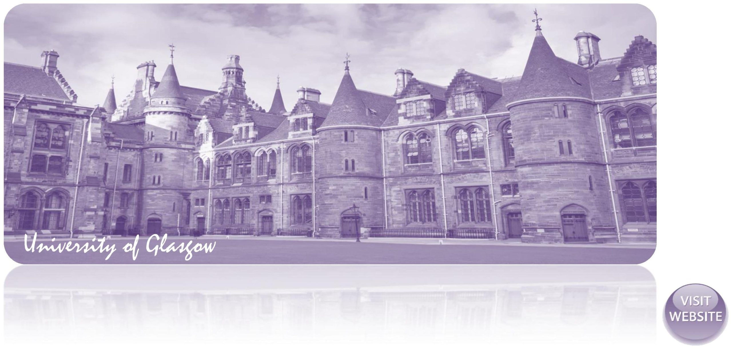 University of Glasgow UK