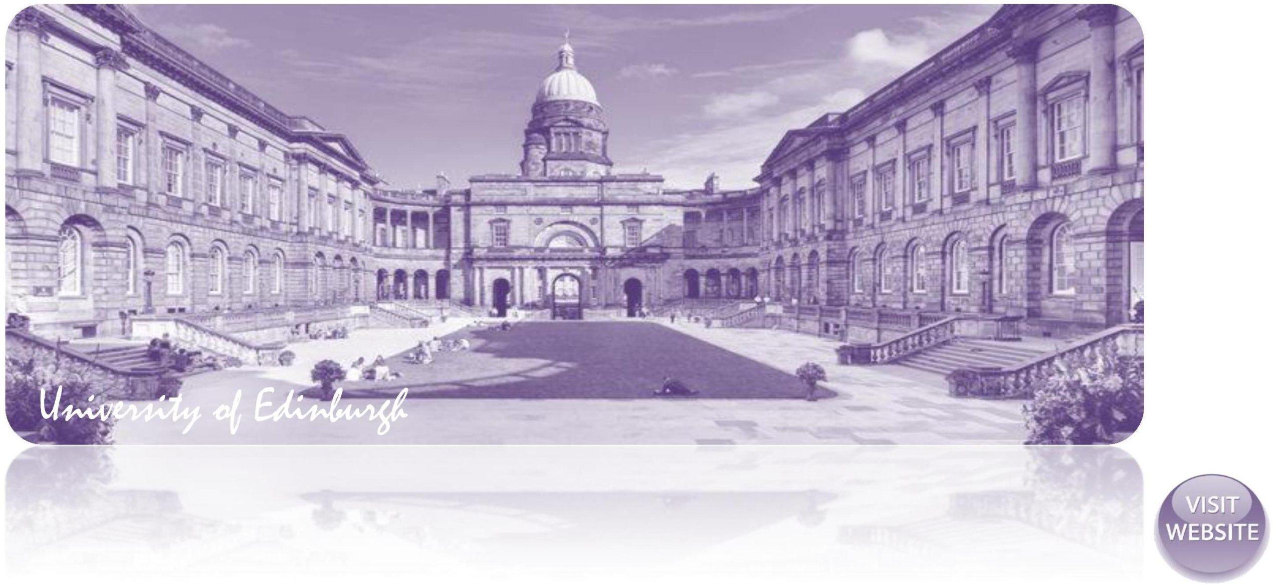 University of Edinburgh UK