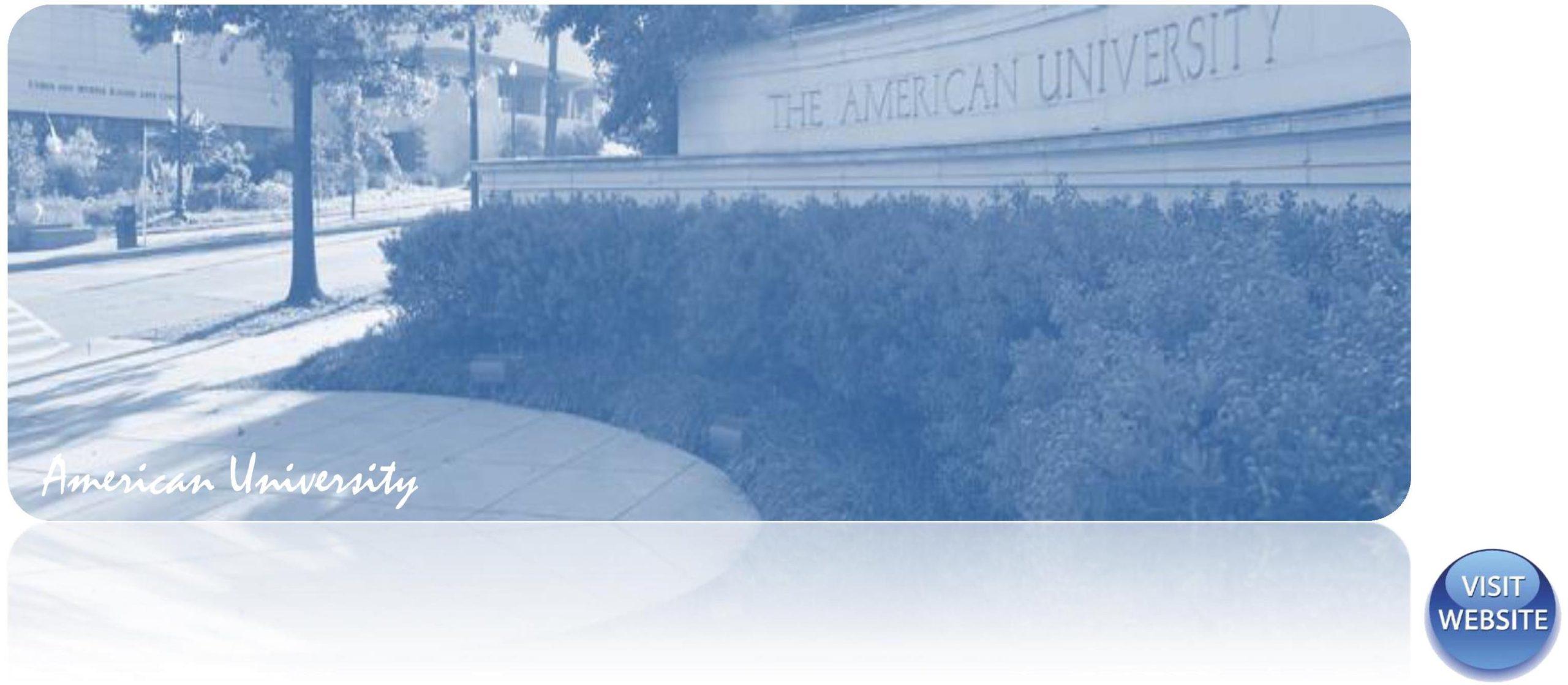 American University USA