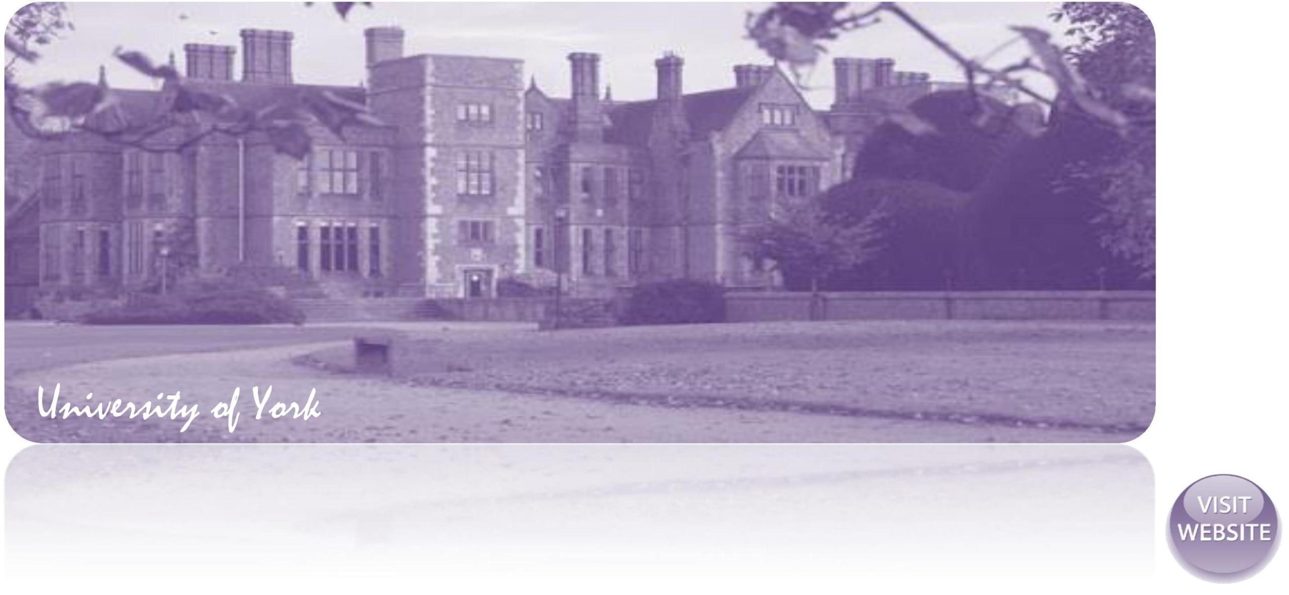 University of York UK