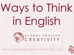 Ways to think in English